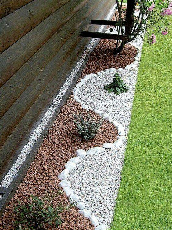 Decoraci n de jard n con piedras garden design - Decoracion de piedras para jardin ...