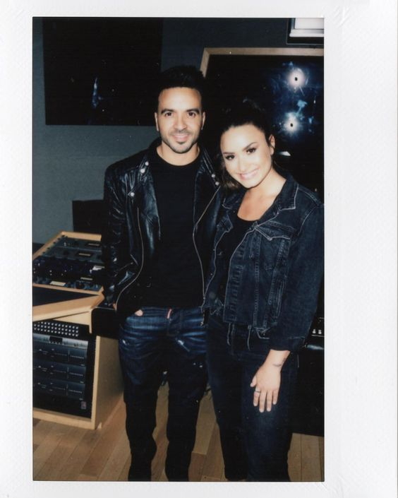Demi Lovato with Luis Fonsi