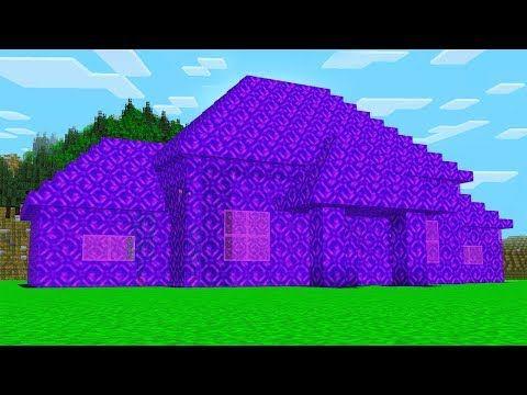 World S Biggest Minecraft Portal House Youtube Minecraft