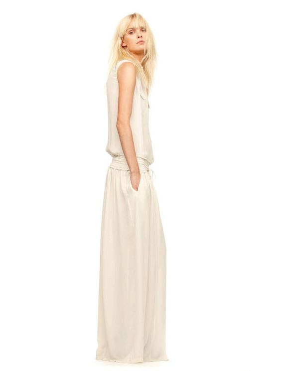 simple and stylish for summer from French company IRO: Iro Spring, Iro White, Linen Pants, Spring Summer, White Dress, 22 Iro, Beat Fashion