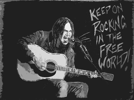 Rockin In The Free World Chords By Neil Young This Is An Iconic Rock Song That S Great To Learn For Beginners See The Playing Guitar Guitar Songs Rock Songs