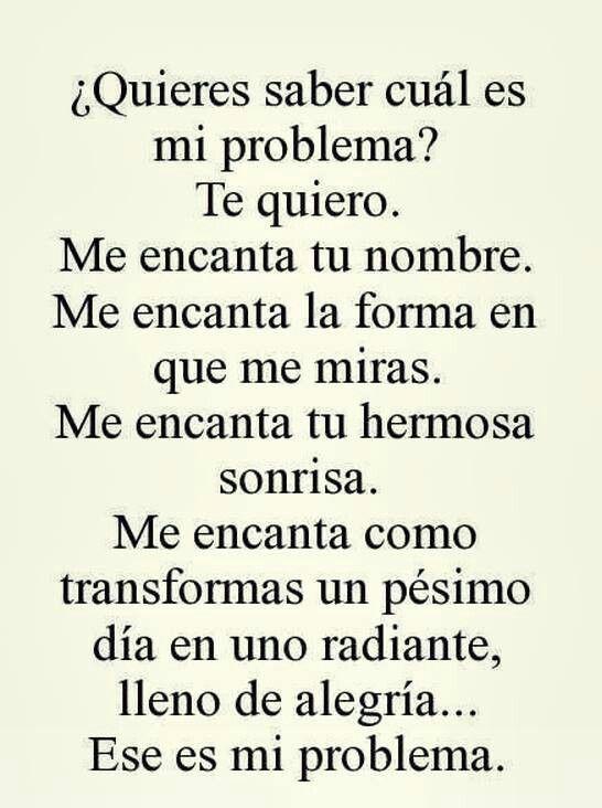 Mi problema