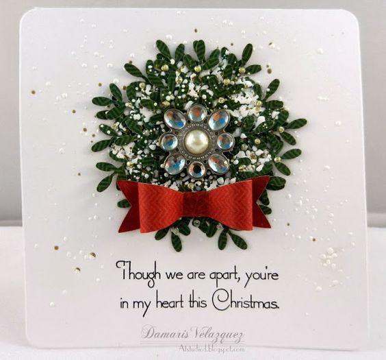 Elegant christmas card cards pinterest christmas for Elegant christmas card ideas