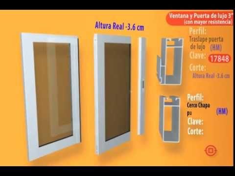 Como Hacer Una Ventana Y Puerta Corrediza 3 Youtube Ventanas De Aluminio Puertas Ventanas Ventanas