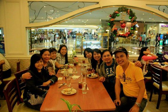 Dad's Megamall, 1/7/2012                                                       Reunion with Annie Abanez and the Rotaractors
