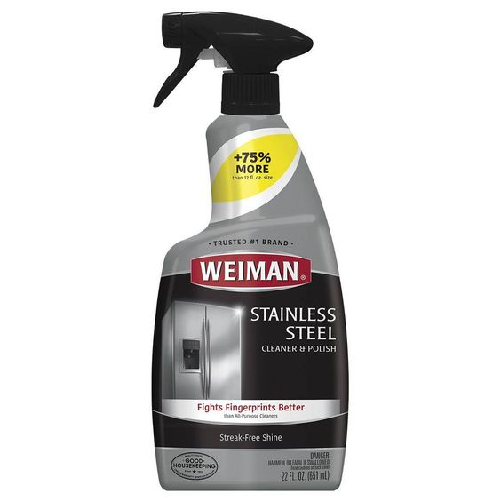 Weiman Stainless Steel Cleaner And Polish Trigger 22 Fl Oz Target Stainless Steel Cleaner Weiman Stainless Steel Cleaner Stainless Steel Cleaning