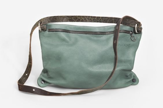 INA KENT Moonlit06 #mint #leatherbag #purse