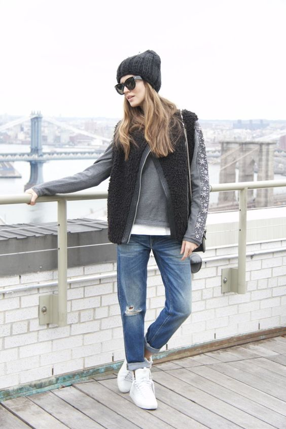 Clara Alonso #wearinghoss sweatshirt AW14 Collection
