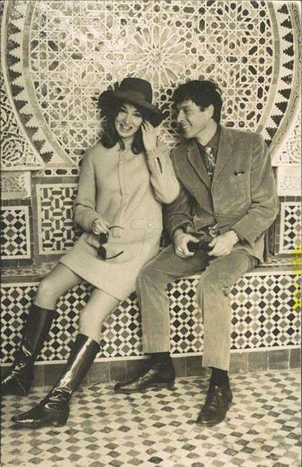 Sans doute la photo la plus célèbre de Talitha Getty et Paul, pris à Marrakech par Patrick Lichfield en 196.