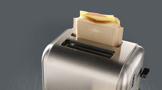 toaster bag. Toastabags.