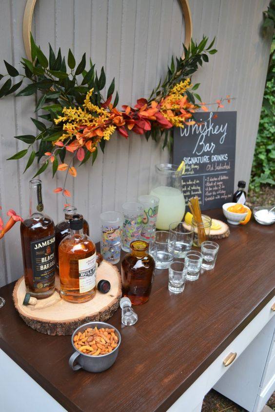 Easy To Make Whiskey Bar Perfect For Parties Whiskey Tasting