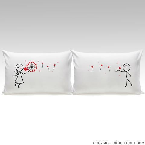 Yours Couples Pillowcases Couples