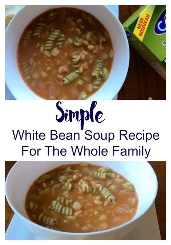 Simple White Bean Soup Recipe For The Whole Family