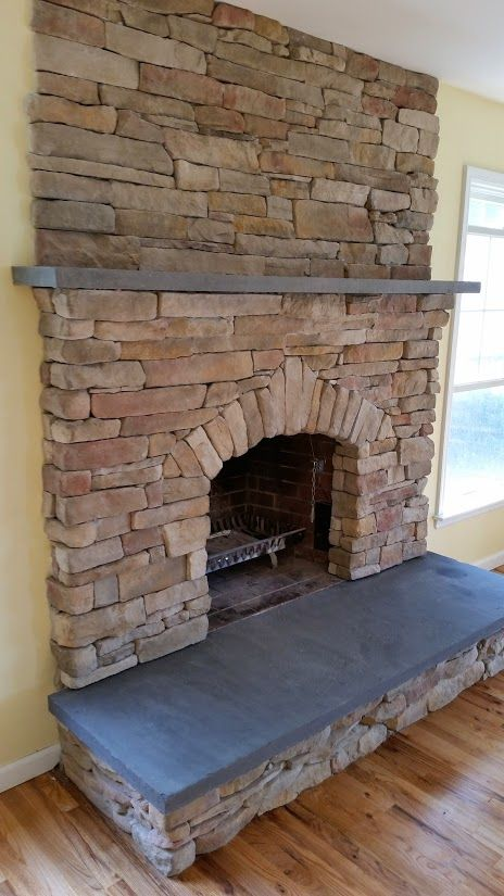 Cultured Stone Fireplace | Misc | Pinterest | Stone ...