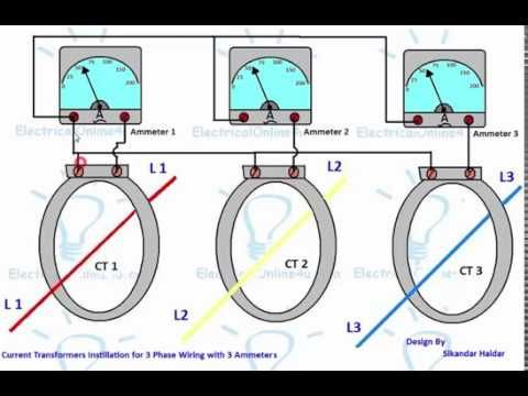 A Complete Guide About Current Transformers Ct Installation Or Ct Coil Wiring Connection With Ammeter For Current Transformer Transformer Wiring Transformers
