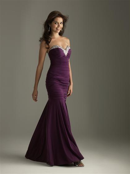 Plum Purple Prom Dress! - Bridesmaid dress remake ideas ...