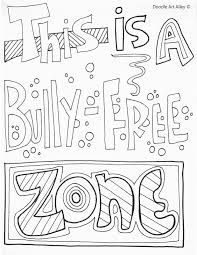 Image result for anti bullying posters for kids to colour for Anti drug coloring pages