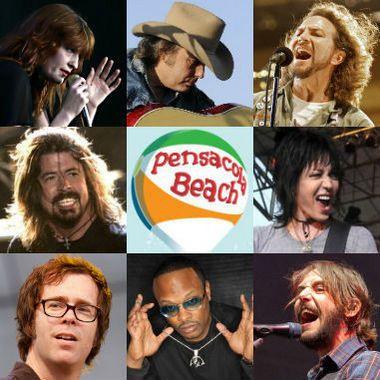Pensacola Beach - DeLuna Fest 2012 lineup.....the kids had an amazing time at DeLuna Fest!