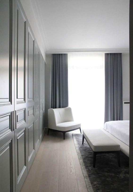 Chambre Appartement Paris classique chic /Guillaume Terver & Christophe Delcourt