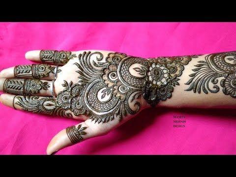 arabic stylish mehandi design