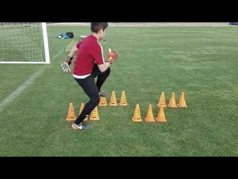 U12 Goalkeeper Training Youtube Goalkeeper Training Soccer Training Goalkeeper