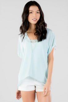 Harper Basic Lace Blouse