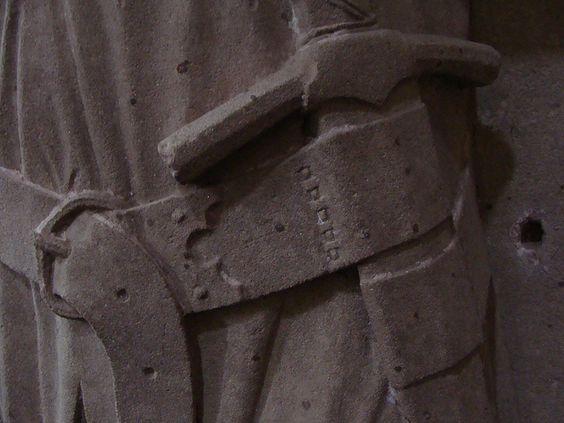 ca. 1311-1330 - 'count Eberhard I (+1311) or count Eberhard III von Katzenelnbogen (+1328)', Kloster Eberbach, Hattenheim, Eltville am Rhein, Hessen, Germany by roelipilami, via Flickr