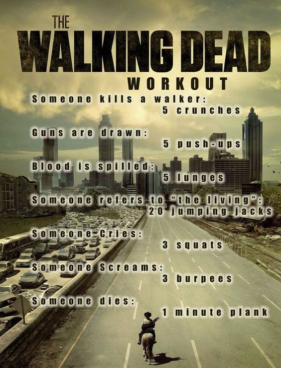 The Walking Dead Workout