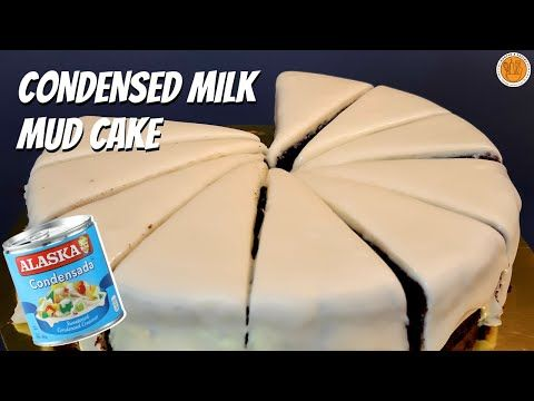 Condensed Milk Mud Cake Easy Delicious Cake Recipe Mortar And Pastry Youtube In 2020 Mud Cake Easy Delicious Cakes Yummy Cakes