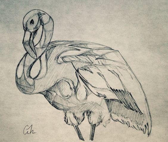 Flamingo by PrismaScribble