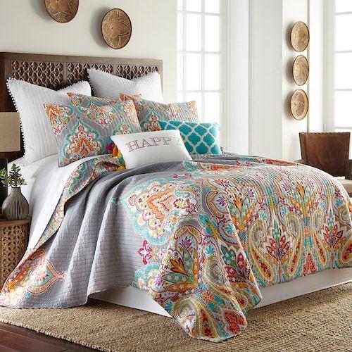 Maricela Quilt Or Sham Kohls Bed Linens Luxury Coverlet