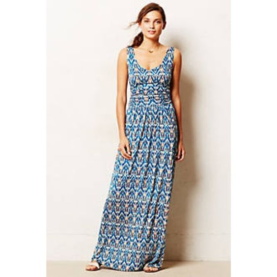 Anthropologie maxi dress sale