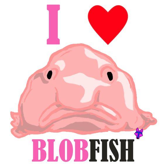I love Blobfish, I hope you do! Designed by P.A.W. http://pawtees.spreadshirt.com/: