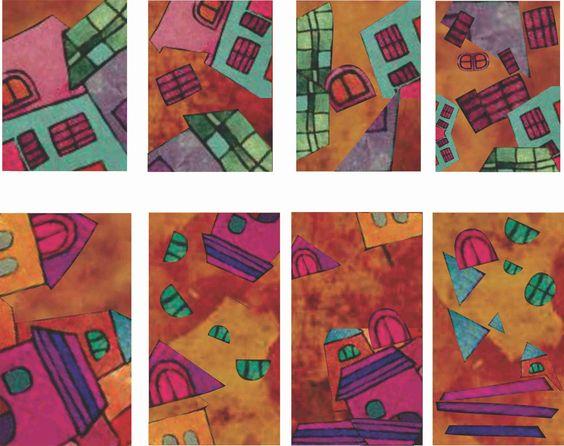 Serie de abstracción