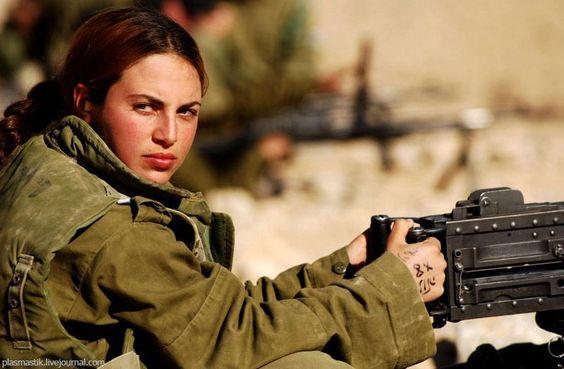 military women with guns   Girls & Guns