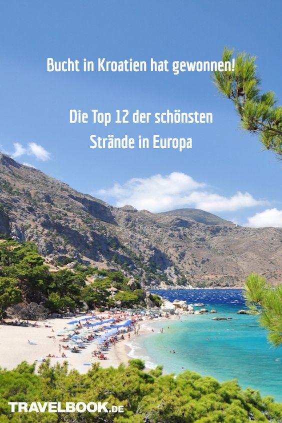"""Welche Strände sind die schönsten in Europa? Das wollte die in Brüssel ansässige Organisation """"European Best Destinations"""" von rund 10.000 Urlaubern wissen. Ganz oben landete eine kleine Bucht in Kroatien. Die komplette Top 12 zum Wegträumen."""
