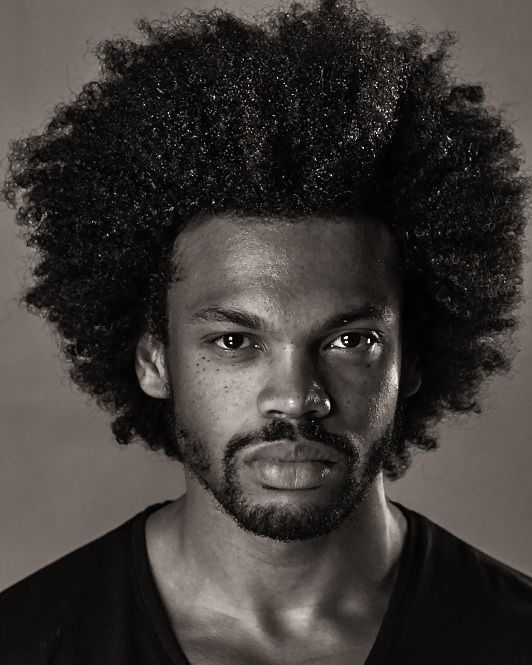 black male hair growth