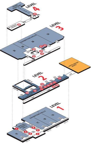 Javits Center Map | compressportnederland