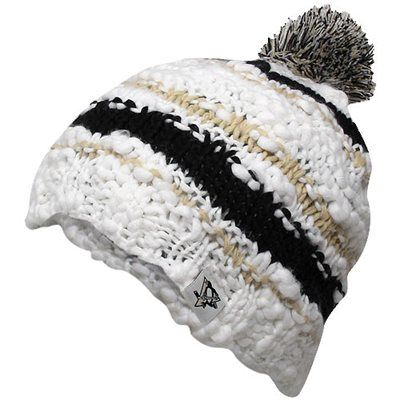 Reebok Pittsburgh Penguins Ladies Crocheted Knit Hat < I'm normally not a hat person, but this is really cute!