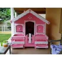 Casinha De Madeira Para Criança