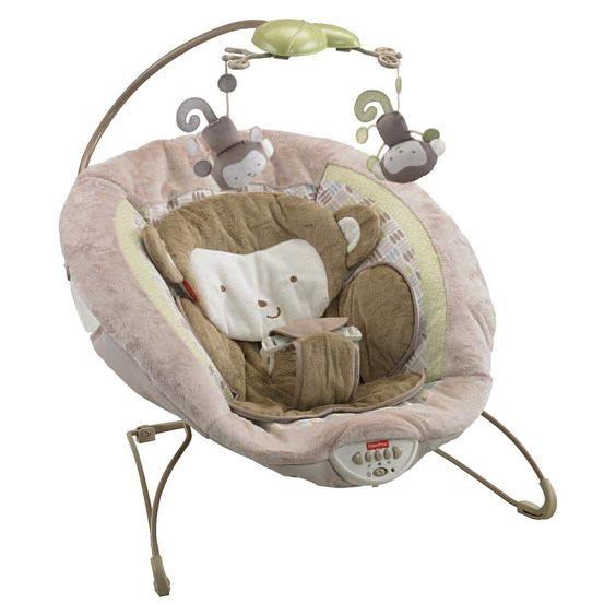 Fisher-Price My Little SnugaMonkey Special Edition Deluxe Bouncer