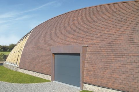Wienerberger - Pushing back the limits - Small format roof tiles used for wall cladding!