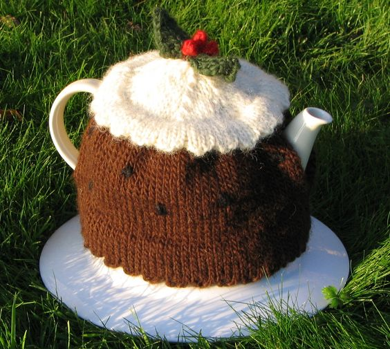christmas pudding TEA COSIES Pinterest Google, Tea cosies and Christmas...