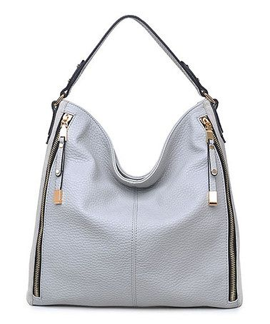 Another great find on #zulily! Gray Providence Hobo #zulilyfinds