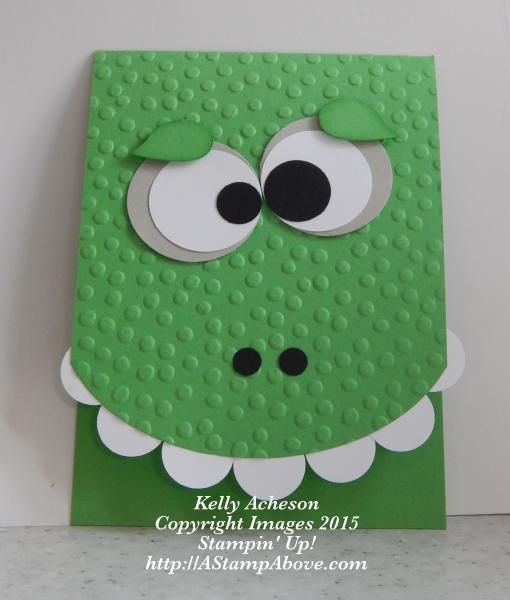 This is an easy and super fun card to make for a baby or little boy.  I got this idea from Rachel Tessman. I have all the details on my blog here:  http://astampabove.typepad.com/my-blog/2015/08/punch-art-new-weekly-deals.html  Thanks for looking!