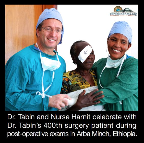 Himalayan Cataract Project supports cataract training programs for surgical teams from all over the developing world. Nurse Harnit was trained through this program and has become and integral member of the HCP team in Ethiopia. #RestoringSight