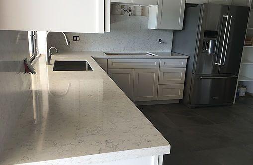 Bianco Orion Silestone 2cm Quartz Countertops And Full