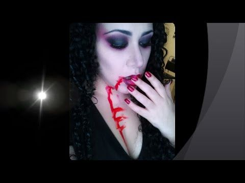Vampiresa super facil maquillaje para Halloween!!! - YouTube