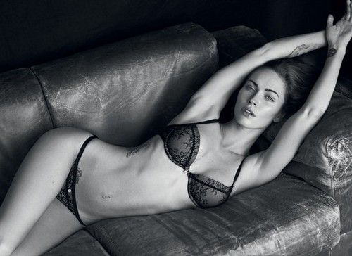megan fox....really should stick to modeling and give up the acting
