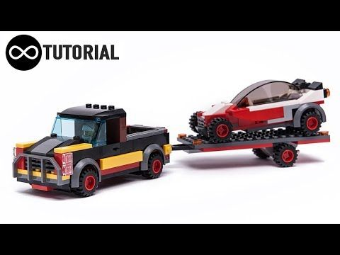 LEGO Video tutorial for custom PICKUP and BUGGY racing car made from ...